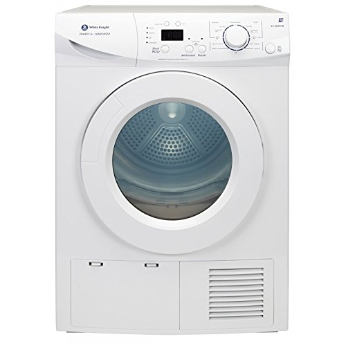 White Knight A+96M7W White 7kg LED Display Sensor Drying Condenser Tumble Dryer