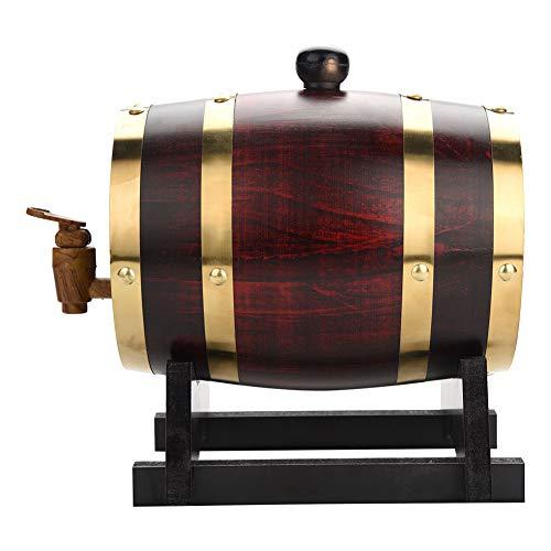 Oak Barrel,1.5L Vintage Wood Oak...