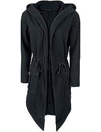 Fashion Victim Hooded Cardigan Cardigan pour Femme noir