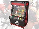 Street Fighter Arcade Game Model Building Block Set 1060pcs - Nano Micro Blocks DIY Toy for Kids
