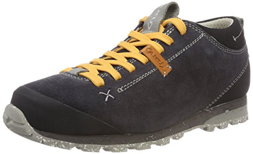 AKU Unisex-Erwachsene Bellamont Suede Trekking-& Wanderhalbschuhe, Grau (Dark Grey/Apricot), 38 EU