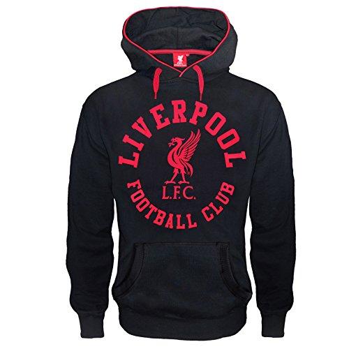 Liverpool FC - Herren Fleece-Hoody mit Grafik-Print - Offizielles Merchandise - Geschenk für Fußballfans - M