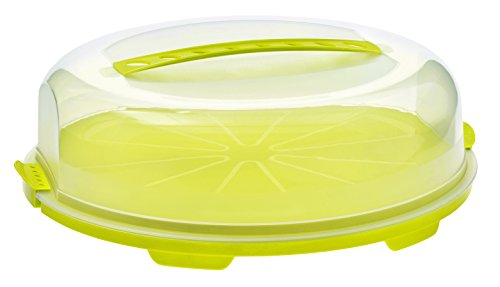 Sundis 7239002 Fresh Boîte à tarte Plastique Lime 35,5 x 34,5 x 11,6 cm
