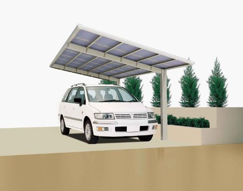 Carport XIMAX Linea Aluminium Typ 110 Standard ES 495x273x244cm
