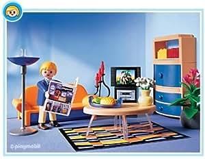 Playmobil - 3966 - La Maison Moderne -  Salon Contemporain