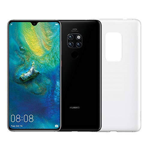 "Huawei Mate 20 (Black) più Cover Originale, Telefono con 128 GB, Display 6.53"" Full HD+, Processore Octa Core dinamico con Intelligenza Artificiale [Versione Italiana]"