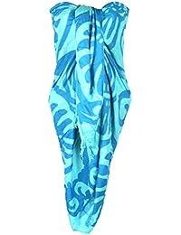 f229e633d53d50 Amazon.fr : sarong femme - Bleu / Femme : Vêtements