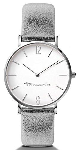 Tamaris B01027010 - Orologio da polso da donna, cinturino in pelle