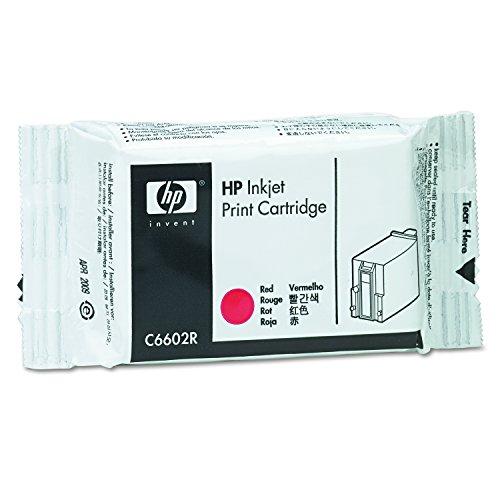 HP C6602R Cartouche d'encre d'origine compatible avec Imprimante TIJ Rouge