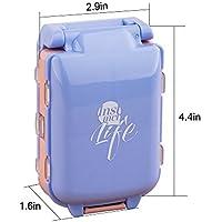 xiduobao Pille Veranstalter Box Weekly Case, Premium Design–große Kapazität Mini Reise Pillendose Tablettenbox... preisvergleich bei billige-tabletten.eu