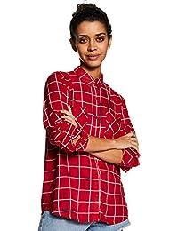 Amazon Brand - Inkast Denim Co. Women's Shirt