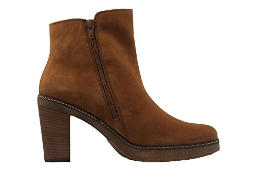 Bottines 70's marron Marron