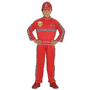 WIDMANN Disfraz de piloto de Carreras para niño - 5-7 años
