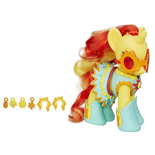 41ocoZgH7hL My Little Pony Princess Cutie Mark Magic Fashion Style Sunset Shimmer Figure UK best buy Review