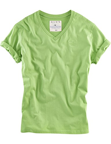 ROADSIGN australia Basic V-Neck T-Shirt Another Wednesday Grün