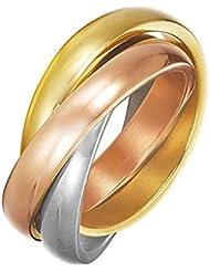 ESPRIT Femme  18carats (750/1000)  Or tricolore|#Gold     Sans FINERING