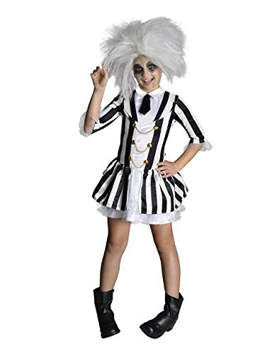 Girls Beetlejuice Costume for 8-10 yrs