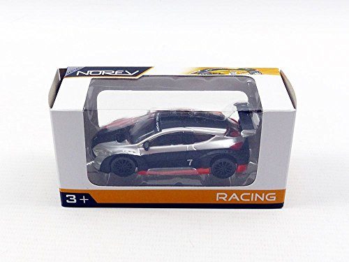 Norev - 319111_02 - Renault Mégane 3 Trophy - Echelle 1/64 - Noir/Argent/Orang