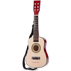 New Classic Toys - 10344 - Instruments de Musique - Guitare En Brun