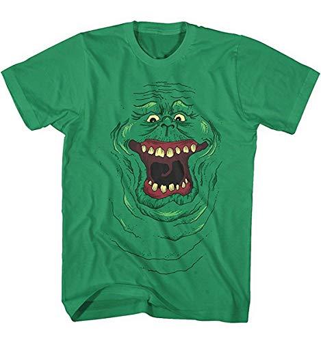 Herren T-Shirt Ghostbusters Slimer Movie Geist Kult Film - Ghostbusters T-shirt Tee