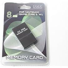 Nintendo GameCube + Wii 8 MB MEMORY CARD [Importación alemana]