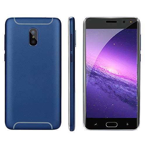 Oasics Smartphone, Neue Art und Weise 5,0 Zoll Doppel-HDCamera Smartphone Android IPS-GANZER Bildschirm GSM/WCDMA 4GB Touch Screen WiFi Bluetooth GPS 3G Anruf-Handy (Blau)