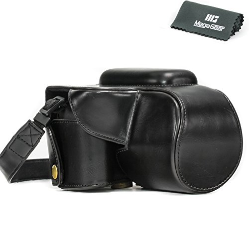 "MegaGear ""Ever Ready"" Protective Leather Camera Case, Bag for Canon PowerShot SX50 HS (Black)"