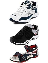 Maddy Men's Mesh Sneakers - Pack of 3