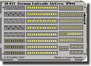 Eduard Accessories 49047 30502000 German Aire Arma Air Crew WWII