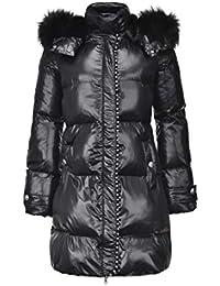 Amazon.it  Pinko - Nero   Giacche e cappotti   Donna  Abbigliamento db5ca5294c6