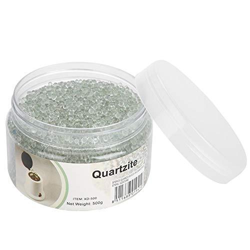 Perle di vetro 500g sfere di vetro trasparente per perle di sabbia siliconica per box per sterilizzatore ad alta temperatura