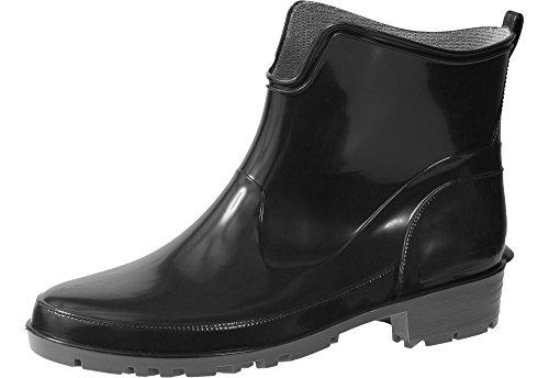 Gummistiefel LA-930 (Schwarz, 38) (Schwarze Kurze Stiefel)