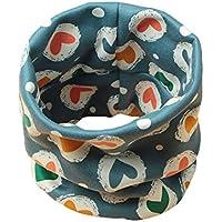 64f283c9d12 Boomly Bébé Écharpe en boucle Hiver Chaud Collier Écharpe Coton O Ring  Foulards Neck Warmer Foulard