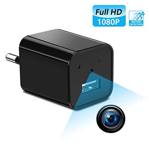 Caméra Espion Caméscope Caché Mini Caméra sans Fil Caméra de Surveillance Intérieure Détection de Mouvement IP Caméra de Sécurité pour iPhone Android