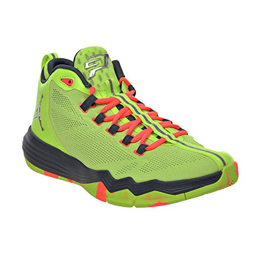 Jordan CP3.IX AE Men's Shoes Ghost Green/Metallic Silver/Hasta/Bright Mango 833909-303 (12 D(M) US)