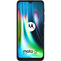 Moto G9 Play, 4GB RAM, 128GB Internal Memory, Dual SIM (Amazon Exclusive) - Sapphire Blue
