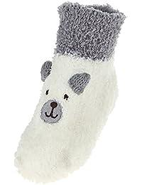 EOZY 3D Chaussette Antidérapant Bébé Fille Garçon Chausson