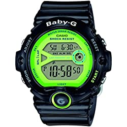 Casio Baby-G – Damen-Armbanduhr mit Digital-Display und Resin-Armband – BG-6903-1BER
