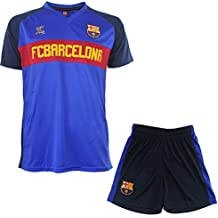 Fc Barcelone Ensemble Maillot + Short Barça - Collection Officielle Taille  Enfant fb5ddb141fa42
