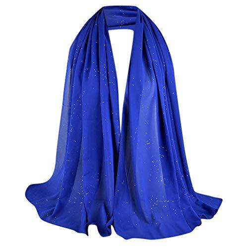 Islamischen Muslimischen Nahen Osten Hijab Scarf Wrap Headwear Muslim Damen Strecken Turban Hälfte Hals Wickeln Kopfbedeckung Haar Kopftuch Dubai Hidschab(T) ()
