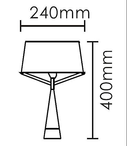 DMMSS Eisen Tischlampe Triceel Kegel Tischlampe Mode Persönlichkeit Beleuchtung Einfachen