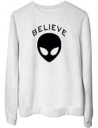 2eb70a6accdf3e Amazon.it: Alien - S / Felpe senza cappuccio / Felpe: Abbigliamento
