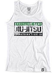 Jiu-Jitsu Tank Top. Vest. Brazilian Camp. Thumbsdown Fight co.Thumbsdown Last Fight. Gladiator Bloodline. Martial Arts. Fightwear. Training. Casual. Gym. MMA T-shirt