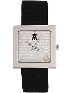 Akteo Uhr Unisex Armbanduhr, Lederarmband