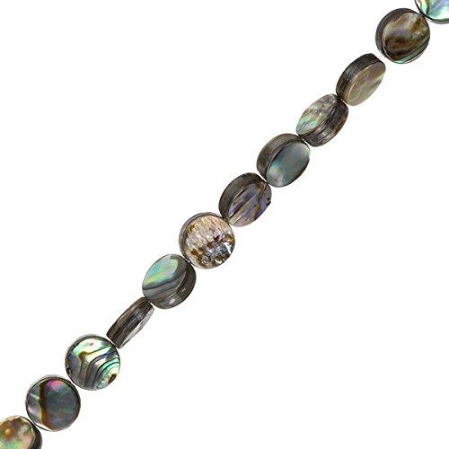 ach 8mm Shell Perlen auf 40,6cm Strand ()