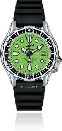 Chris Benz Deep 500m Automatik CB-500A-G-KBS Reloj Automático para hombres Reloj de Buceo
