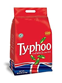 Typhoo Black Tea - 1100 Teabags