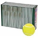 QUINERGYS Sports Yellow Tennis Balls Sports Tournament Outdoor Fun Cricket Ball