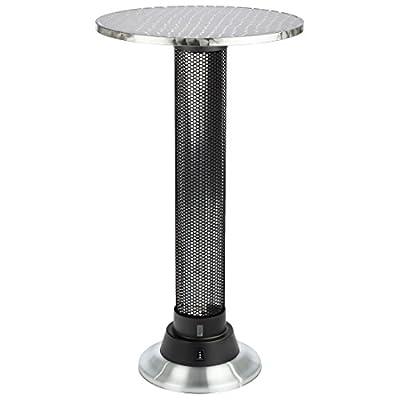 Ultratec Stehtisch mit Integrierter Elektro-Heizung - 1500 Watt Heizleistung
