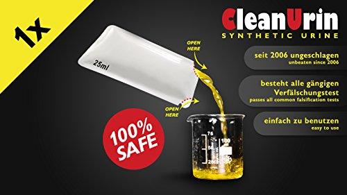 CleanU Cleanurin, 1er Pack (1 x 1 - Urin Drogentest Fake